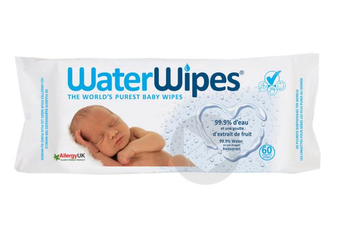 Water Wipes Lingettes Bebe 60 X 5