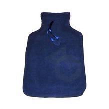 SANODIANE Bouillotte caoutchouc adulte bleu marine