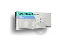 PARACETAMOL MYLAN 500 mg Comprimé (Plaquette de 16)