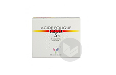 Folique Ccd 5 Mg Comprime Plaquette De 20