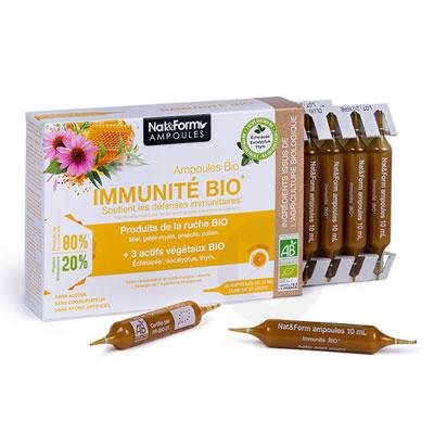 Ampoules immunité bio 20x10ml