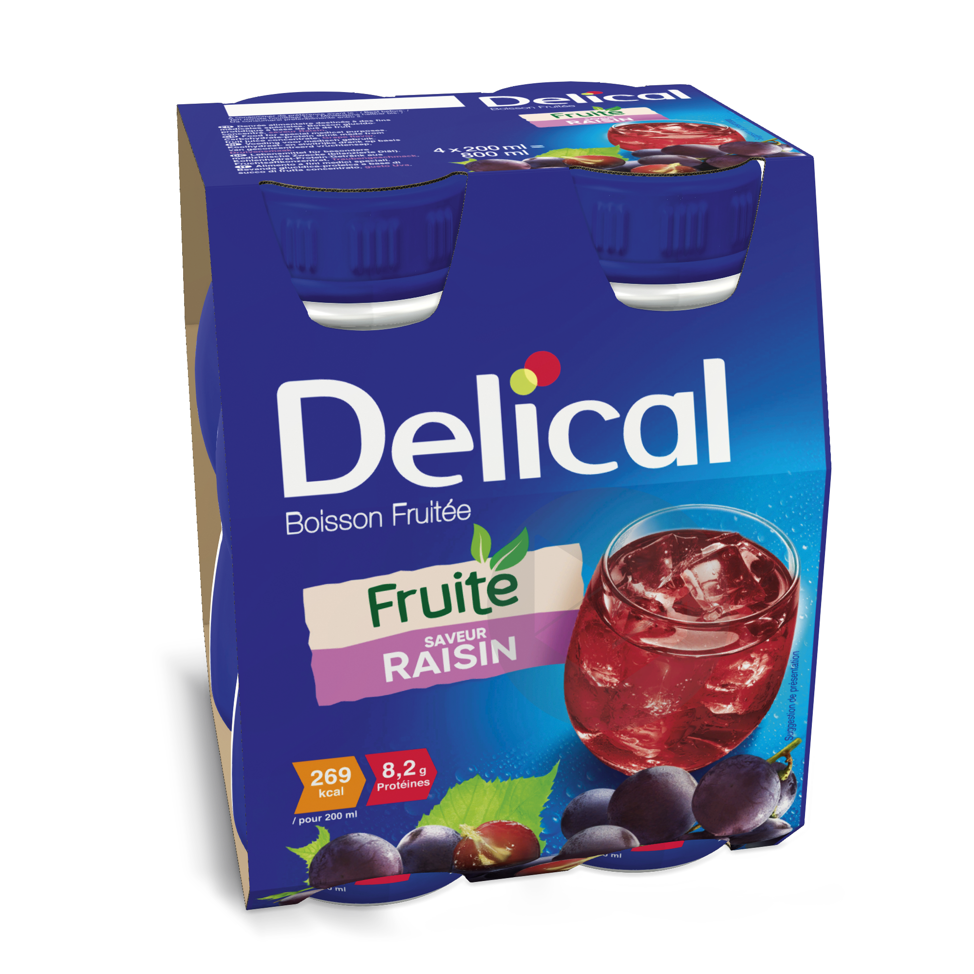 Delical Boisson Fruitee Raisin