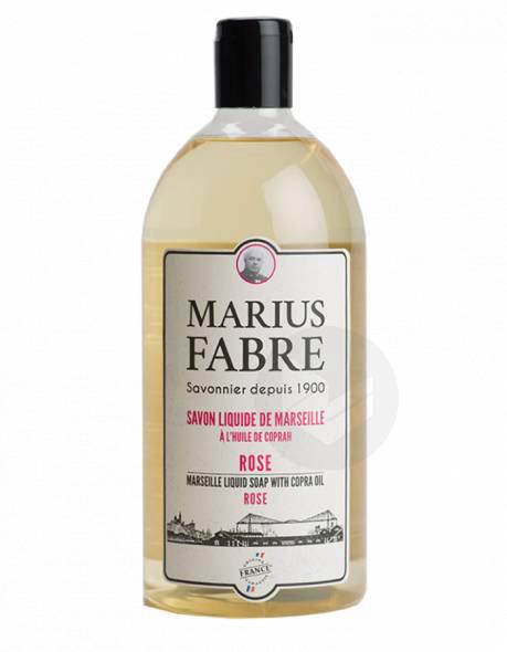 Savon liquide de Marseille A l'huile de Coprah Rose 400ml