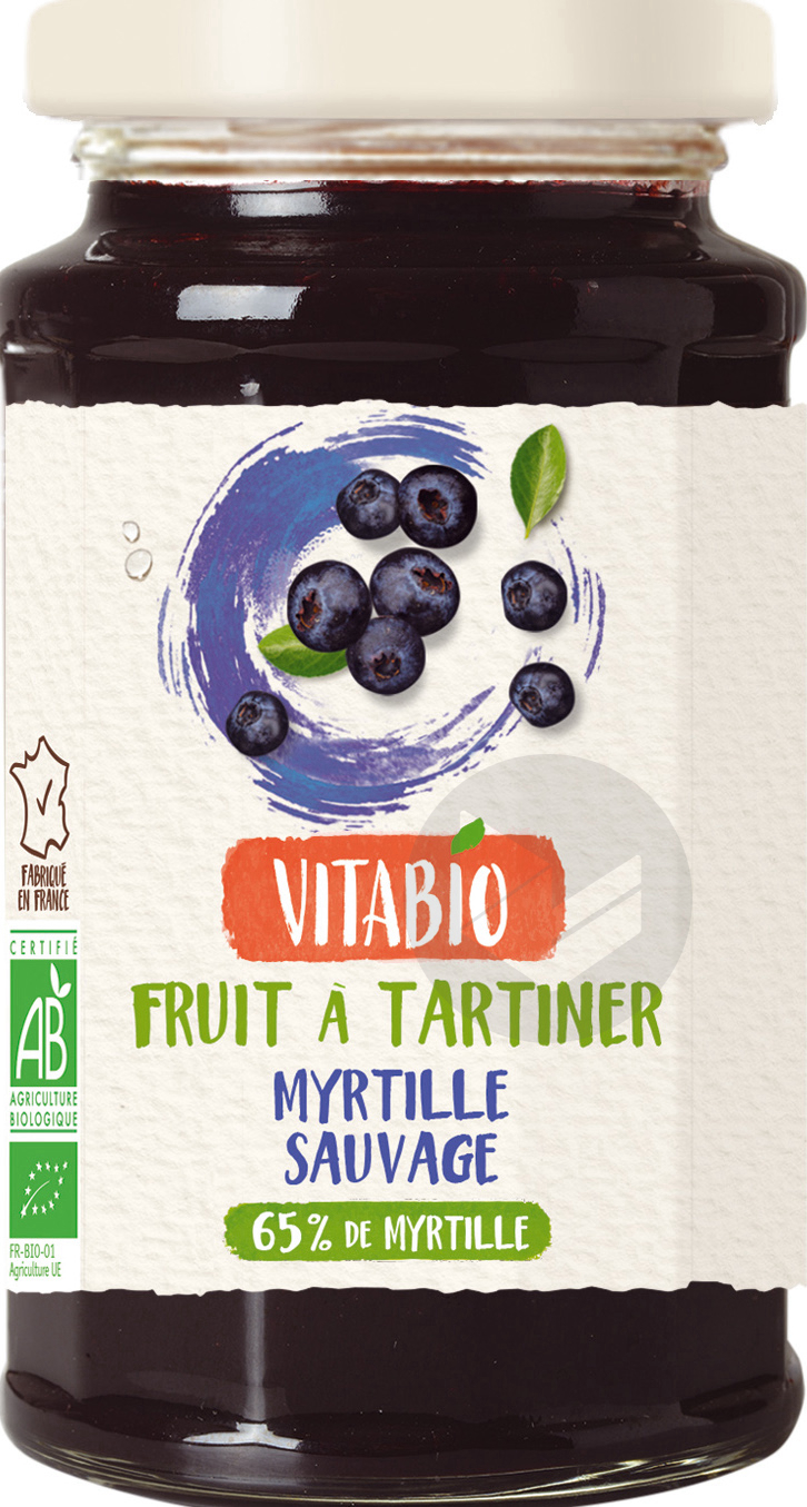 VITABIO Fruits à tartiner Myrtille