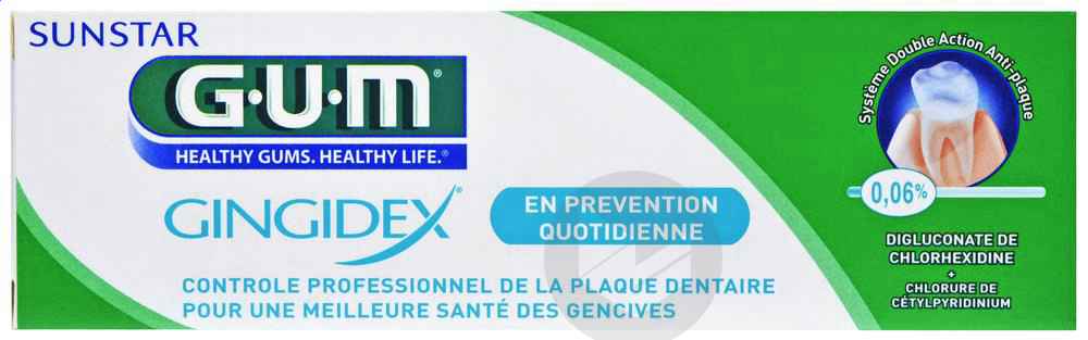Dentifrice Gingidex 75 Ml