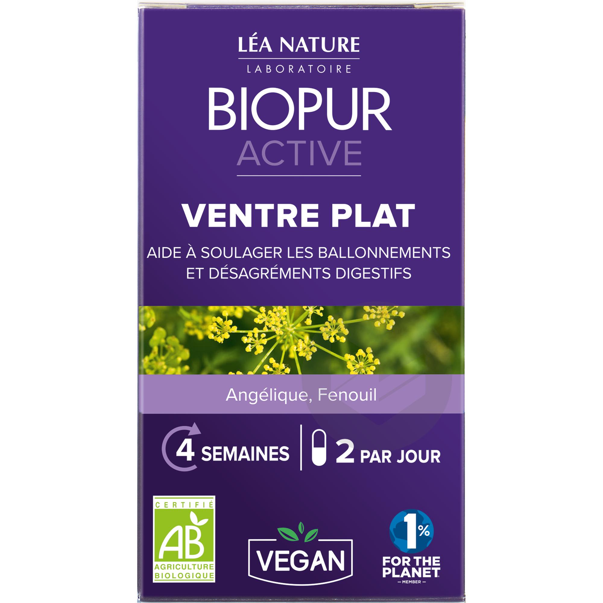 Active gélule végétale Ventre plat                 Angélique Fenouil