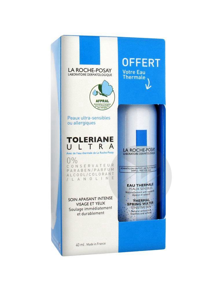 Toleriane Ultra Cr Peau Intolerante Ou Allergique Fl Pompe 40 Ml Eau Thermale 50 Ml