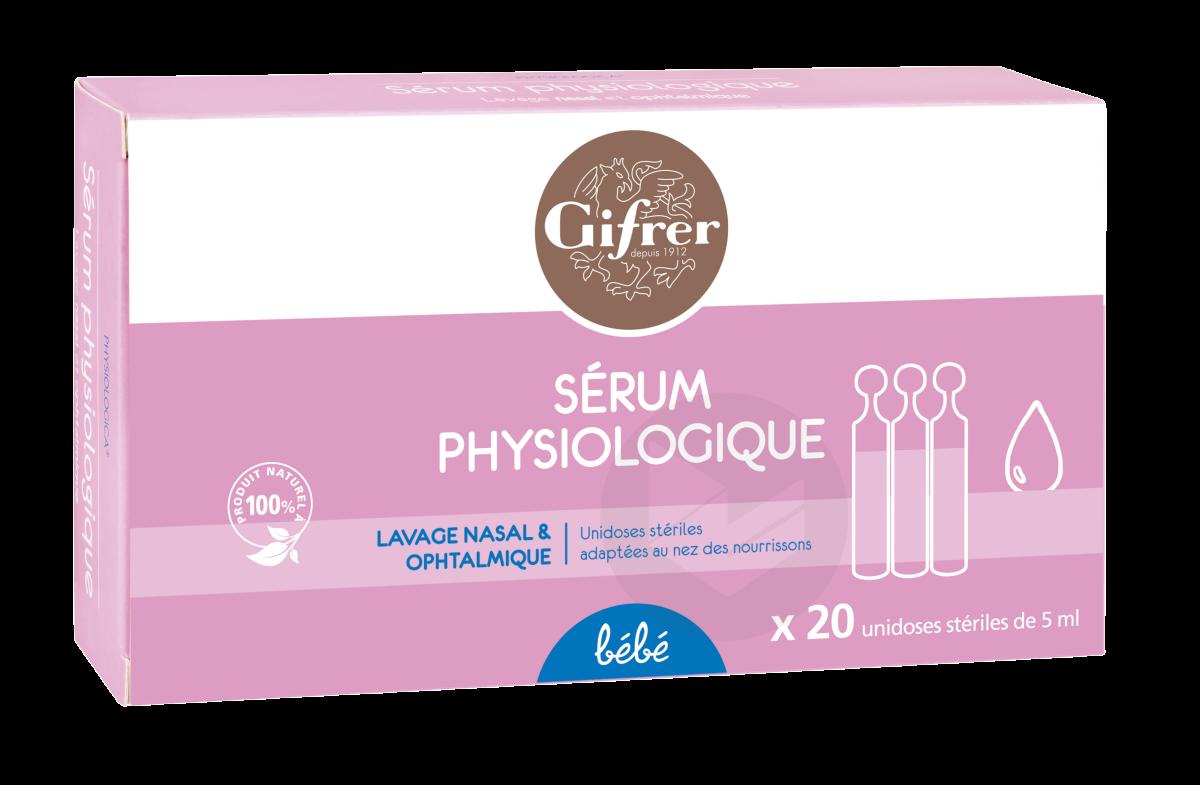 Serum Physiologique 20 X 5 Ml