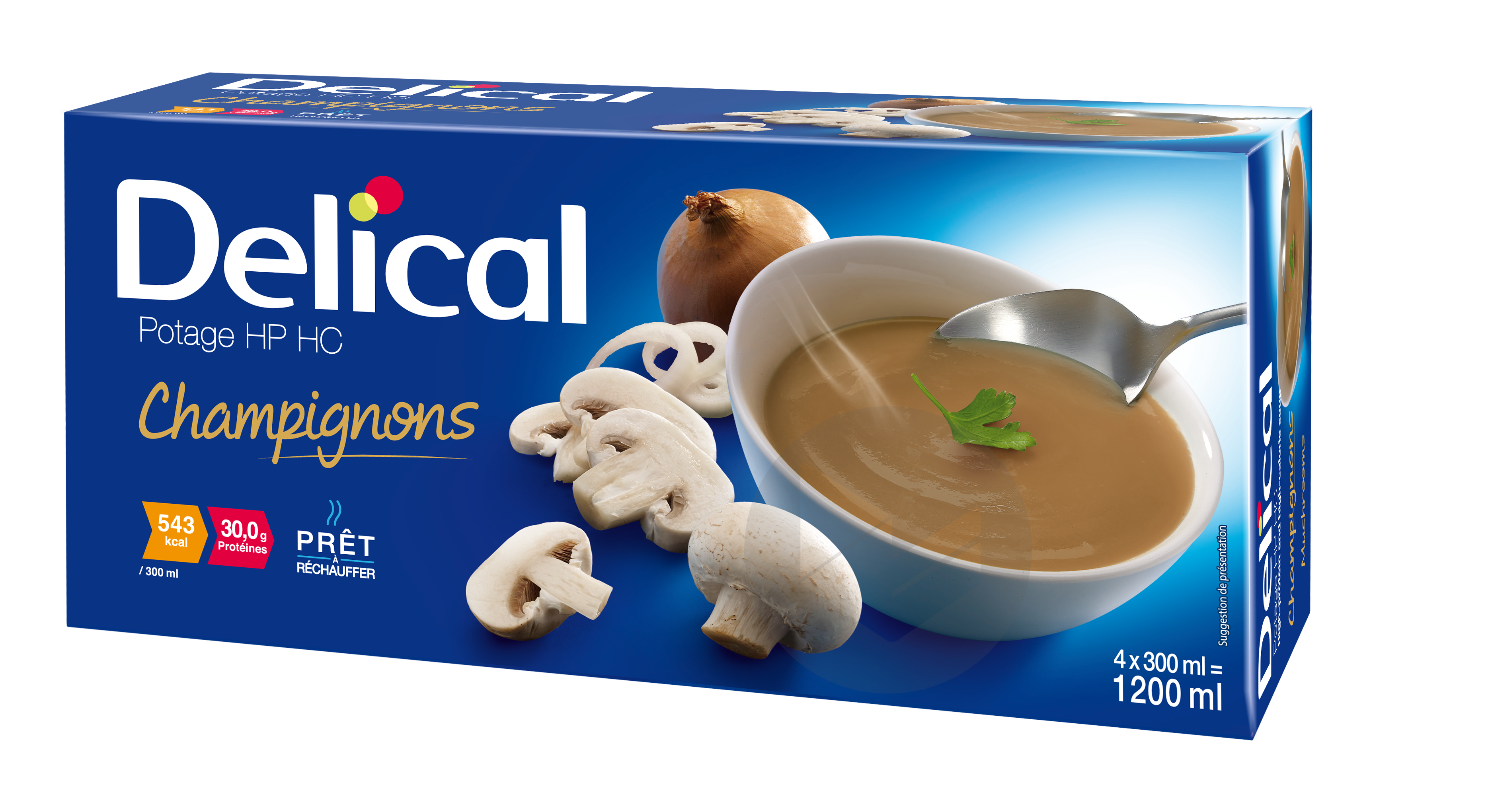 Delical Potage Hp Hc Champignons