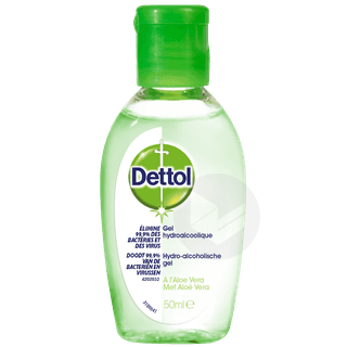 Gel Anti Bacterien Aloe Vera 50 Ml