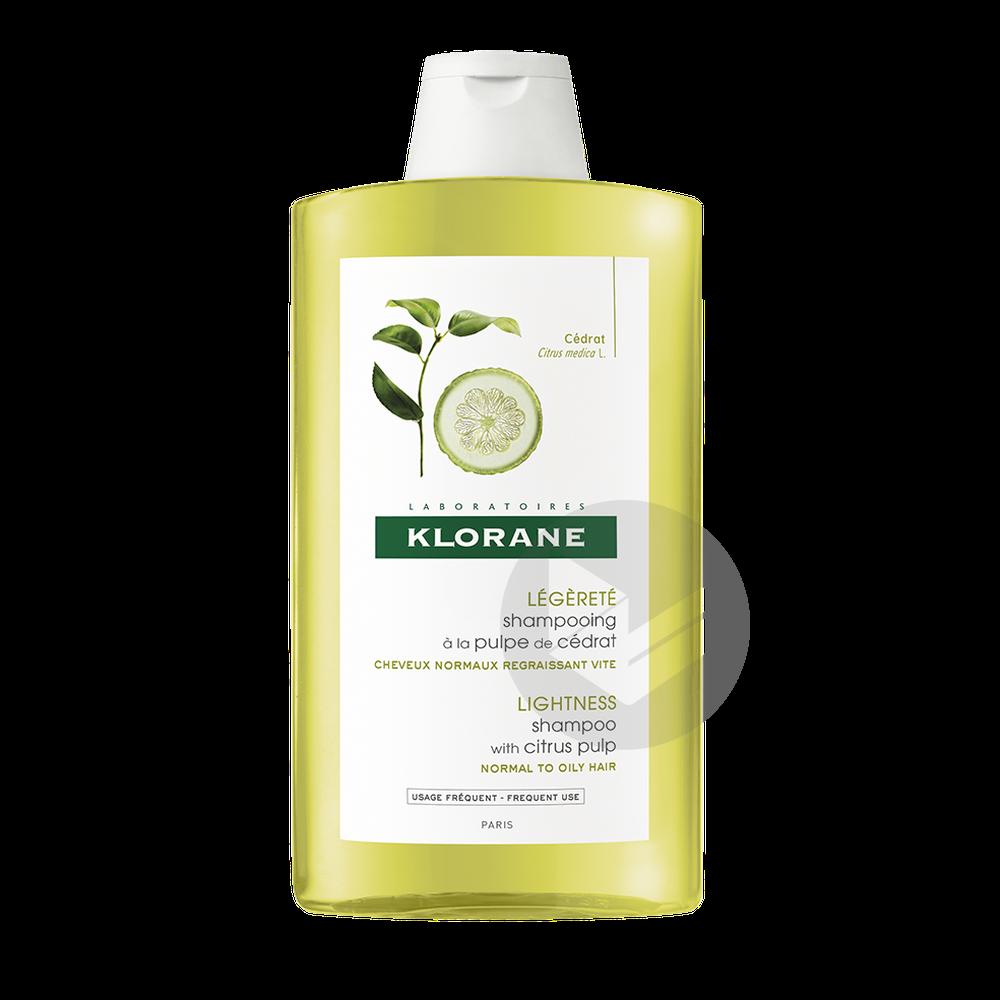 Shampooing A La Pulpe De Cedrat 400 Ml
