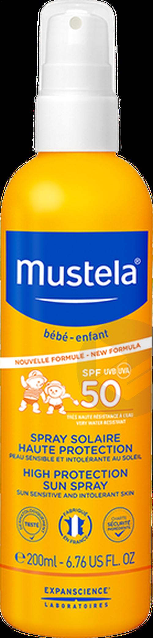 Spray Solaire Haute Protection Spf 50