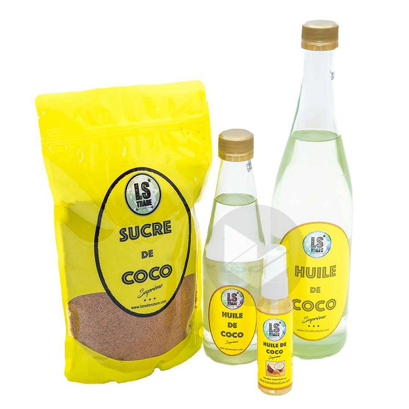 Huile de Coco 330 ML (alimentaire)