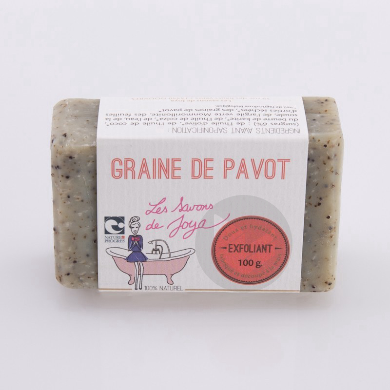 Savon Graine de Pavot 100g