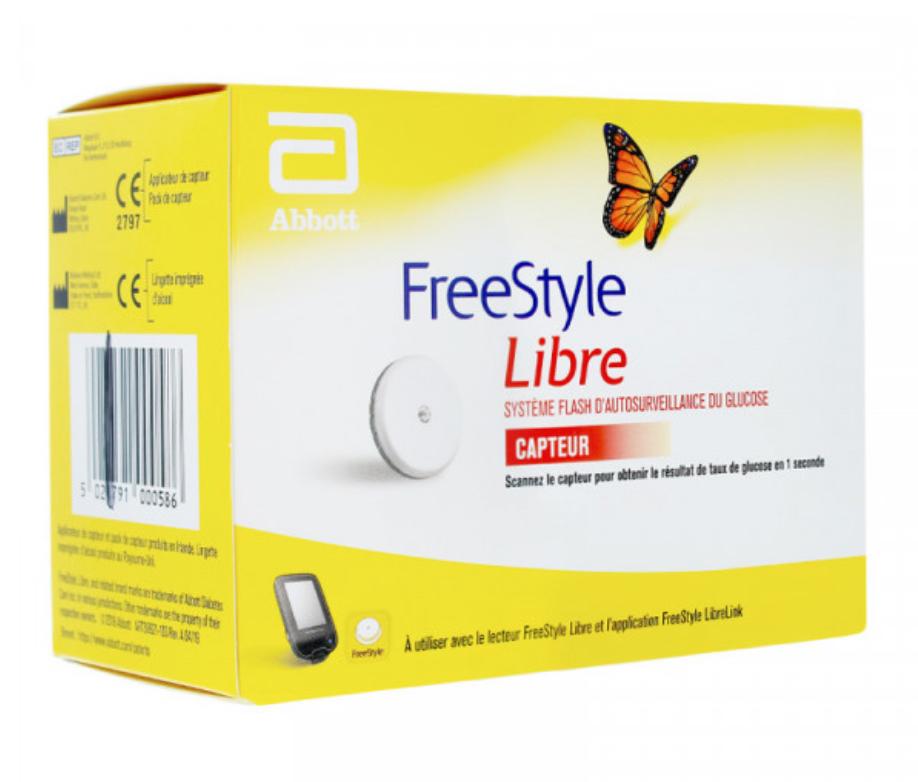 Capteur Freestyle Libre 2 Lingettes