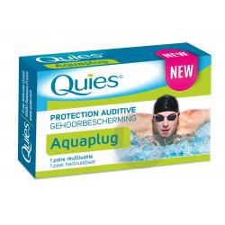 Aquaplug Protection Auditive 1 Paire Reutilisable