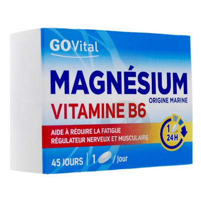 Magnesium Vitamine B 6 Govital 45 Comprimes