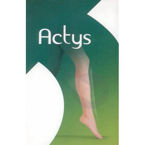 ACTYS 20 Bas autofix femme noir T4N-