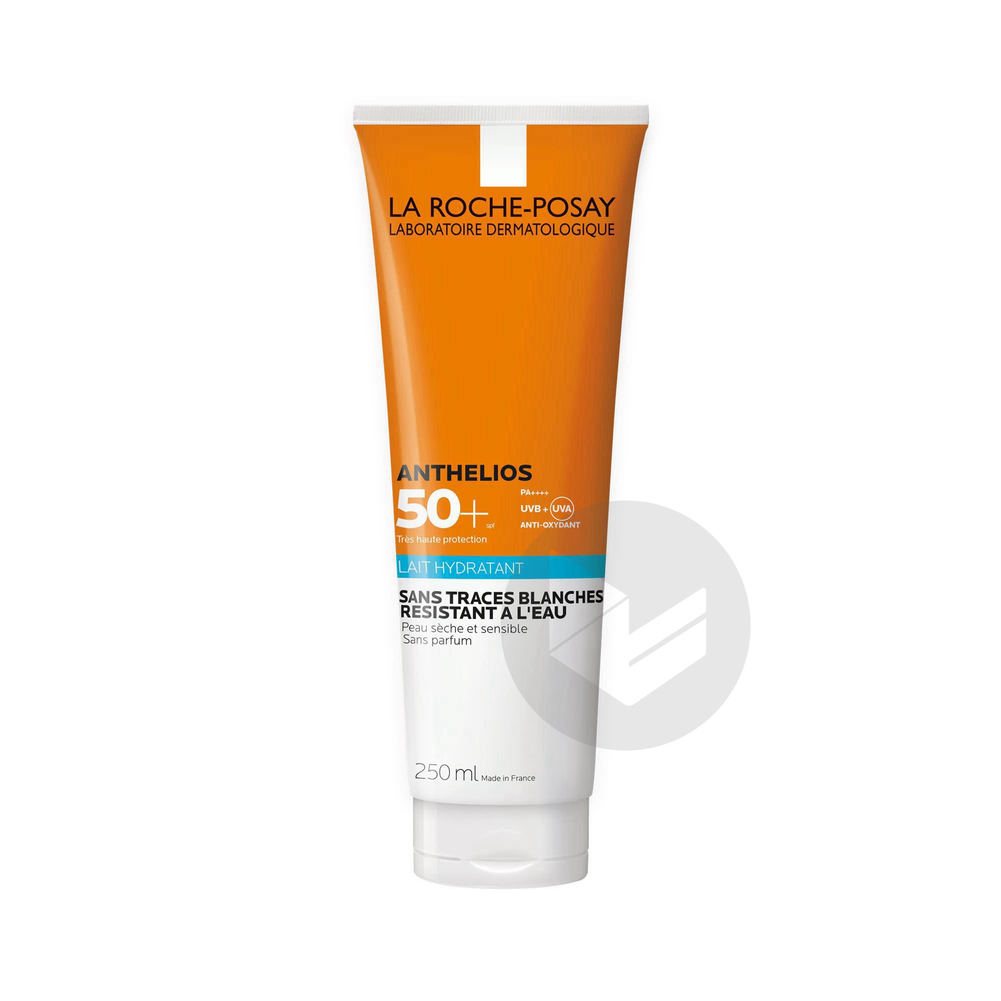 Anthelios Creme Solaire En Lait Hydratant Corps Spf 50 Sans Parfum 250 Ml