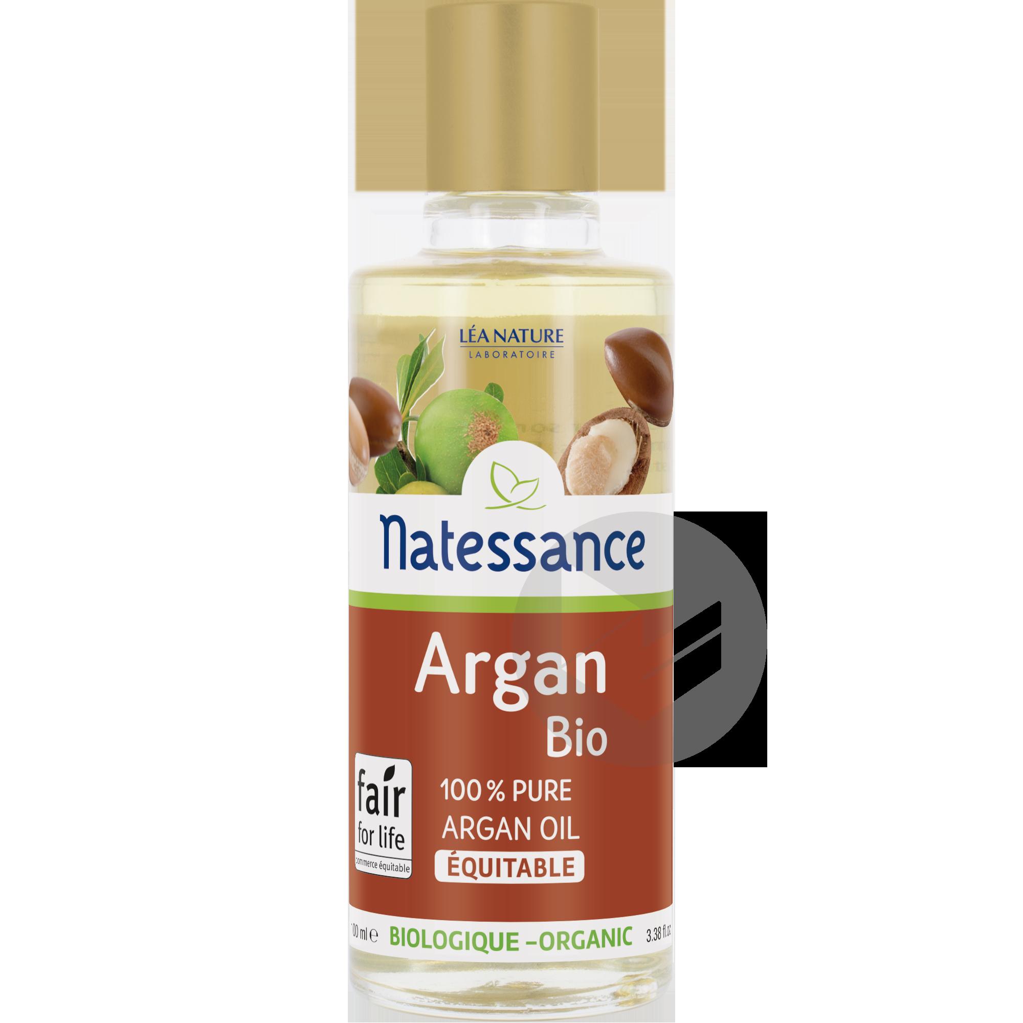 Huile d'Argan bio équitable - 100% pure