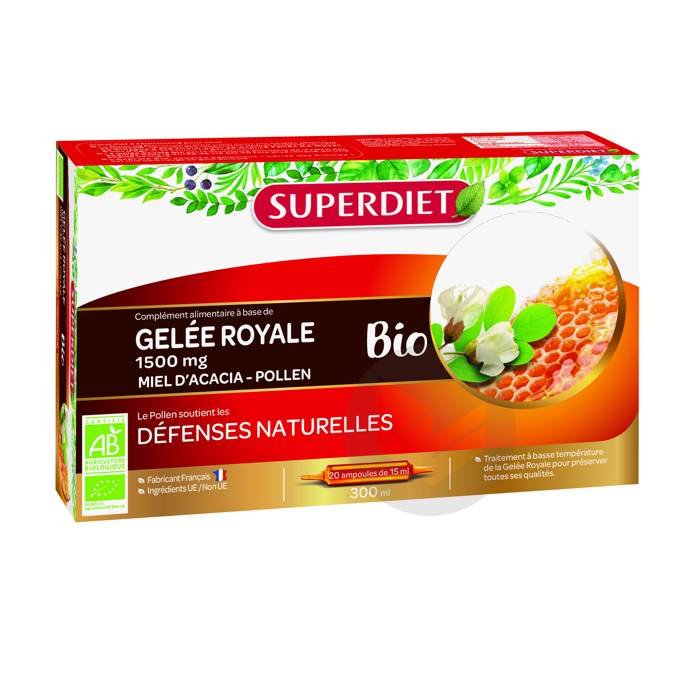 Gelee Royale Miel Pol Bio