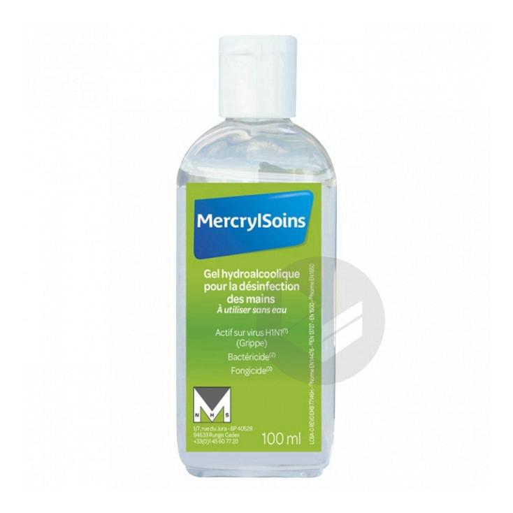 Mercrylsoins Gel Hydroalcoolique Pour La Desinfection Des Mains