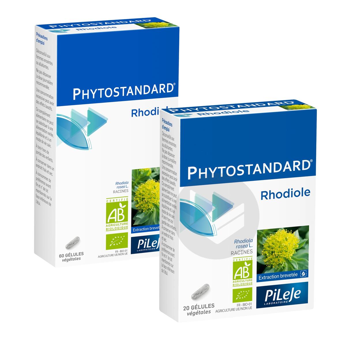 Phytostandard Rhodiole Safran Cpr B 30