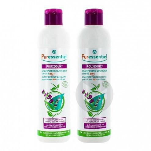 Anti Poux Shampooing Quotidien Pouxdoux Bio 2 Fl 200 Ml