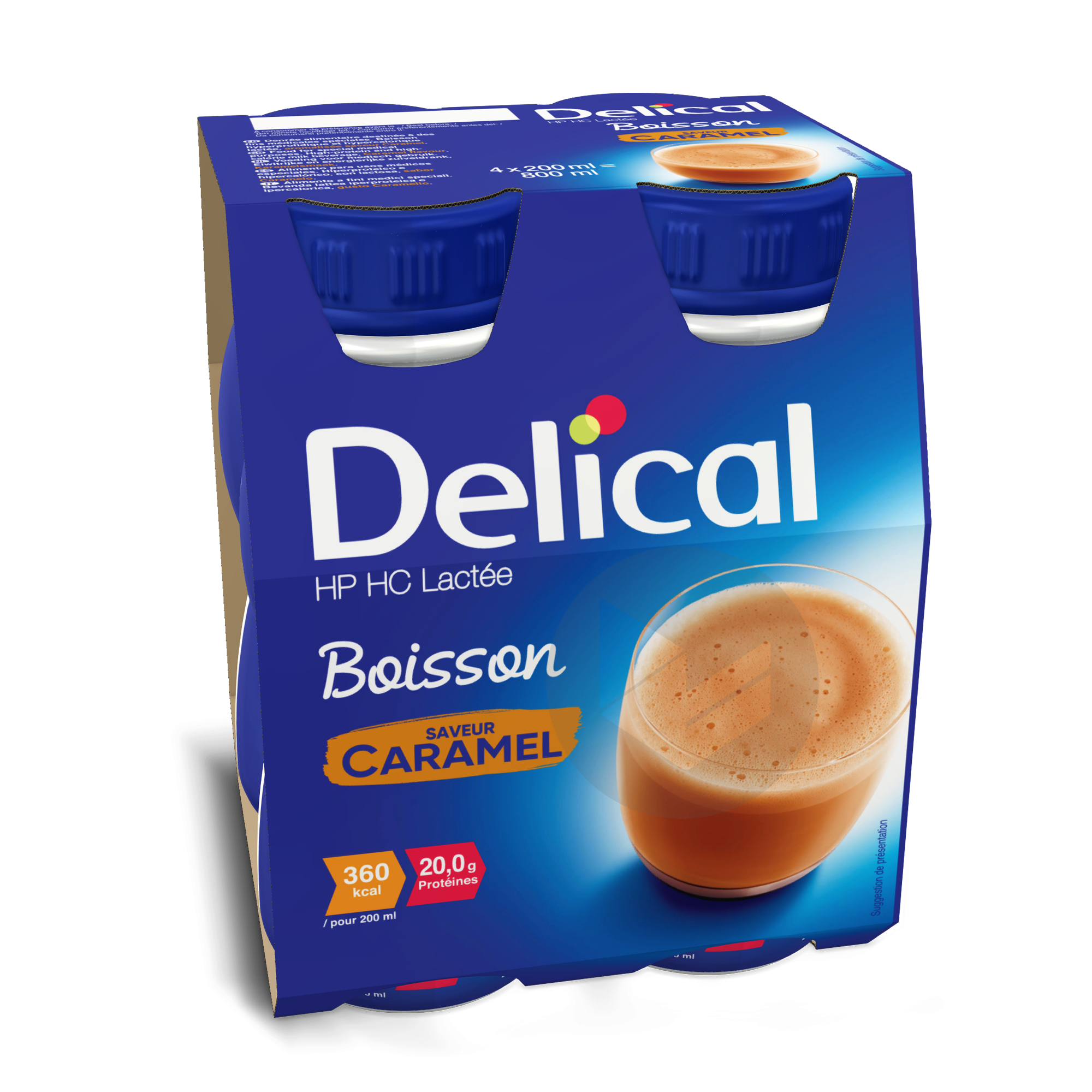 Delical Boisson Hp Hc Lactee Caramel