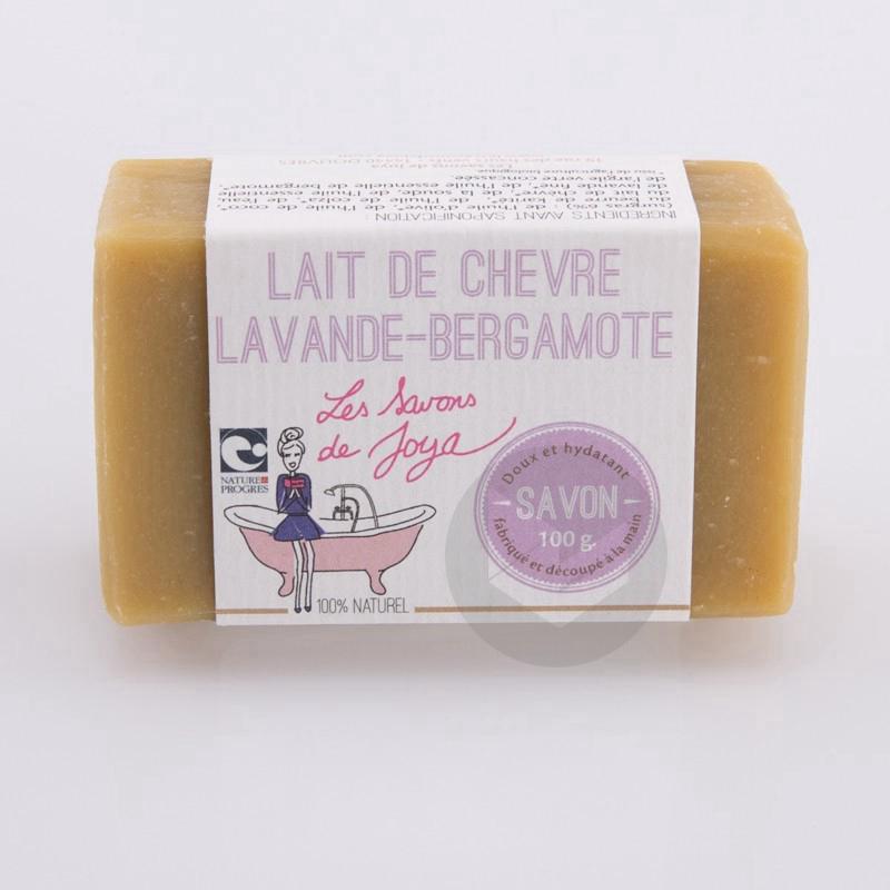 Savon Lait de Chèvre Lanvande-Bergamotte 100g