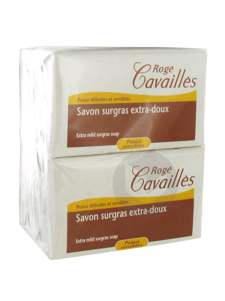Roge Cavailles Sav Surgras Extra Doux 3 X 250 G 1 Savon Offert