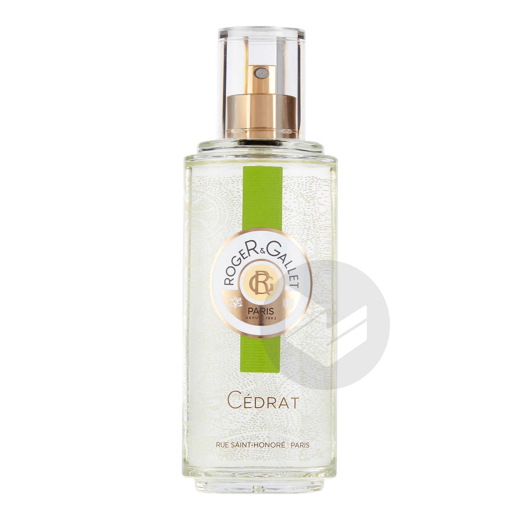 Cedrat Eau Fraiche Parfumee Bienfaisante Vaporisateur 100 Ml