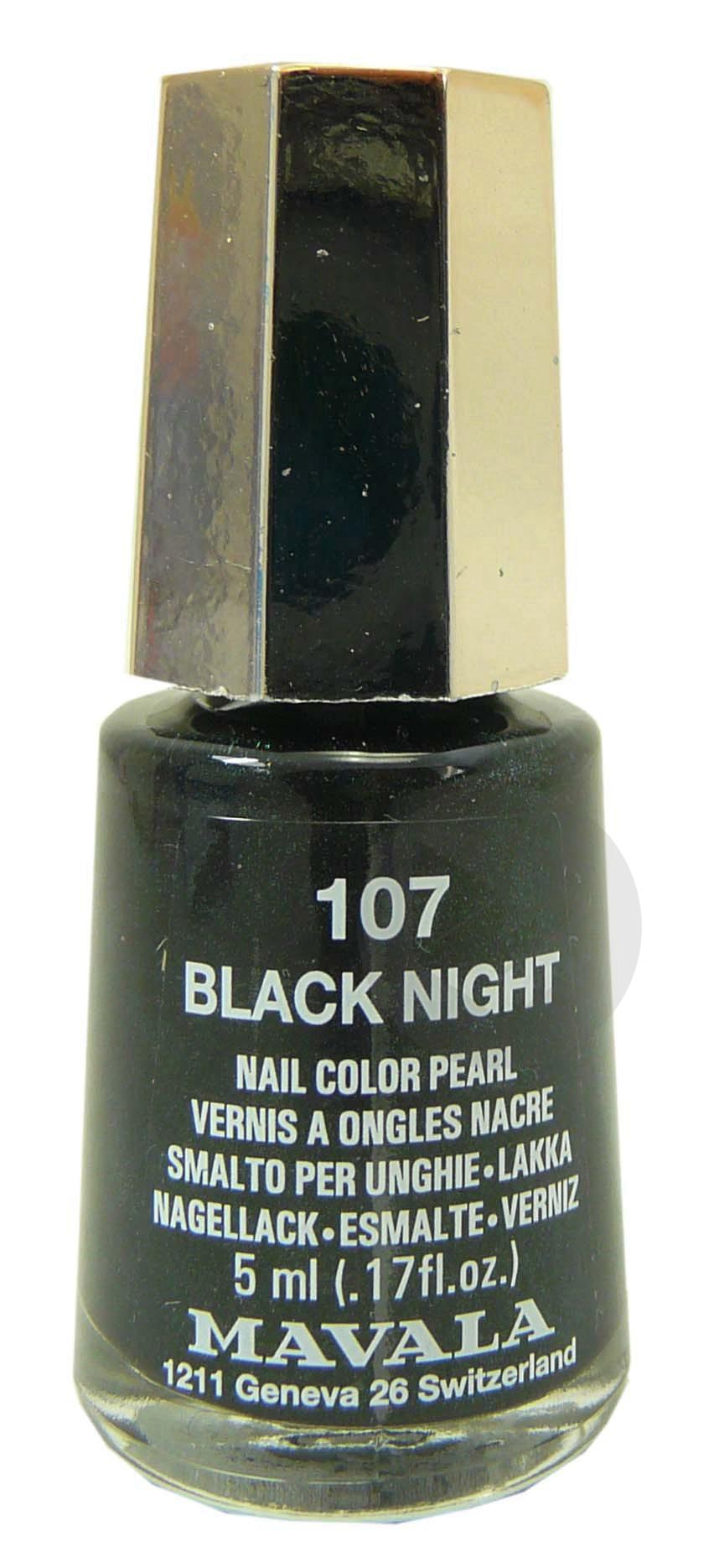 MAVALA V ongles black night Fl/5ml