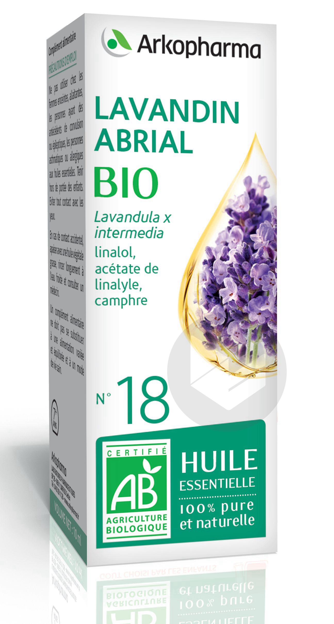 N 18 He Lavandin Bio 10 Ml