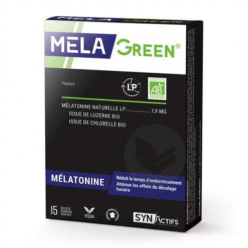 Synactifs Melagreen 15 Gelules