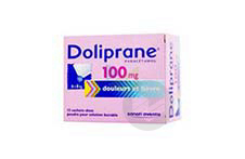 DOLIPRANE 100 mg Poudre pour solution buvable en sachet-dose (Boîte de 12)