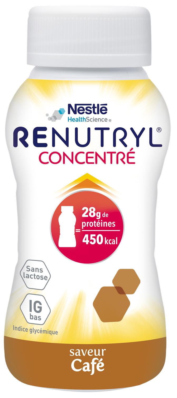 Renutryl Concentre Saveur Cafe 4 X 200 Ml