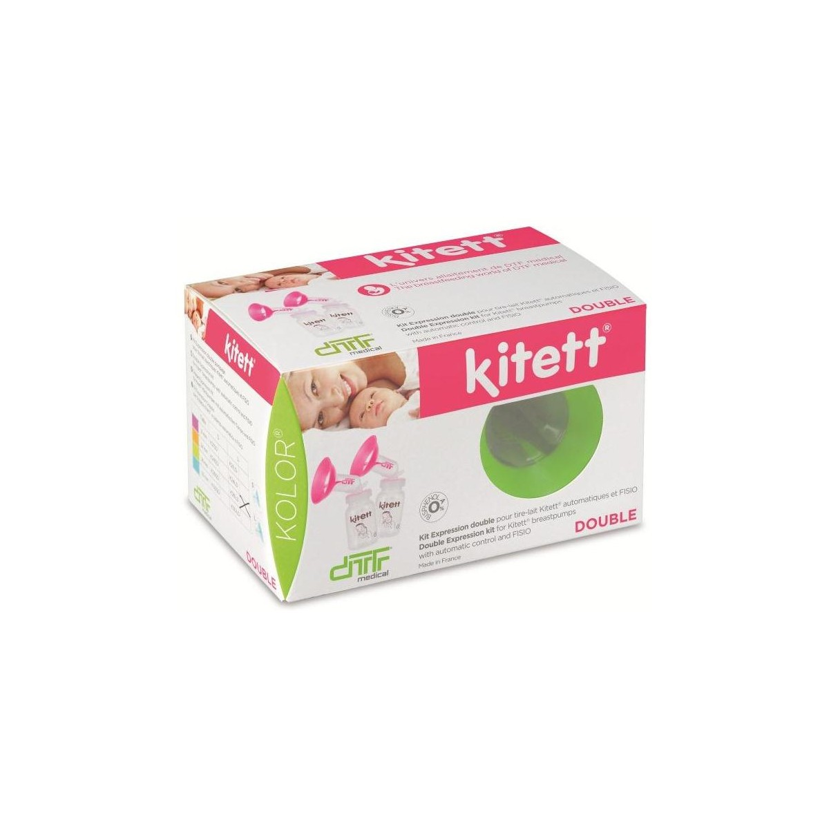 Kit expression kolor double taille 21L