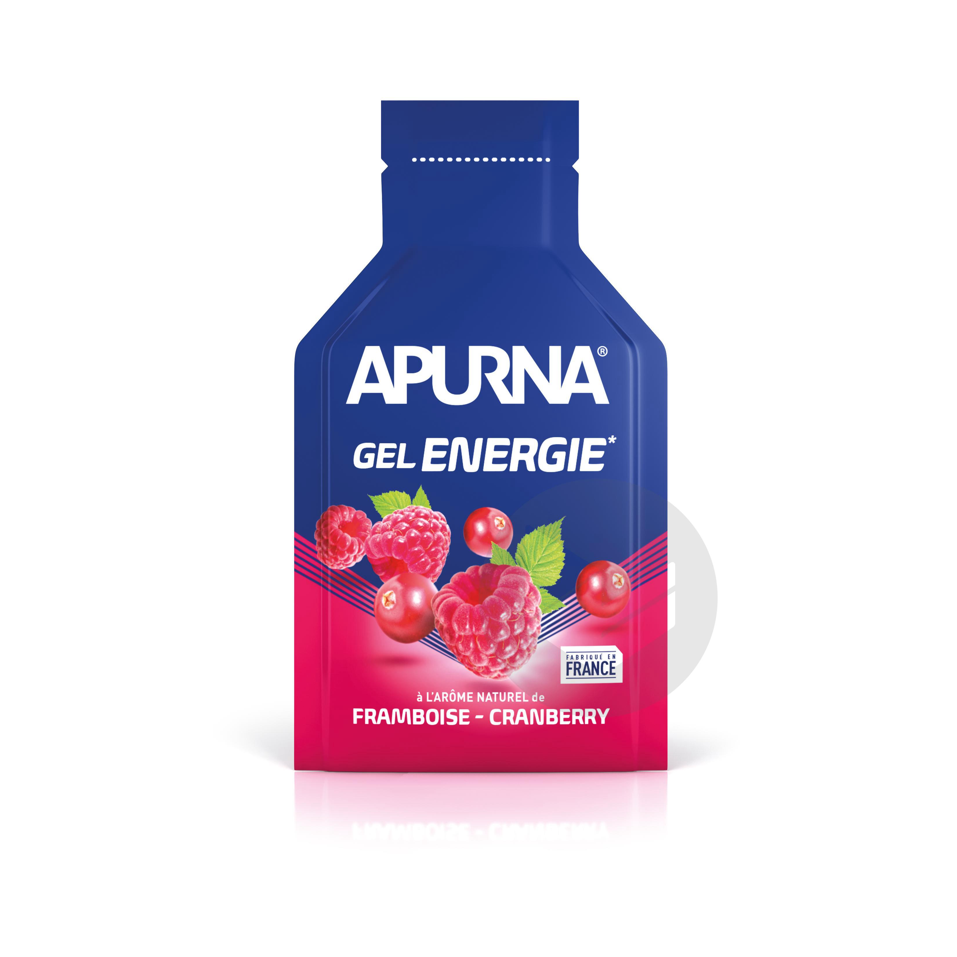 Poche Gel Energie Framboise Cranberry