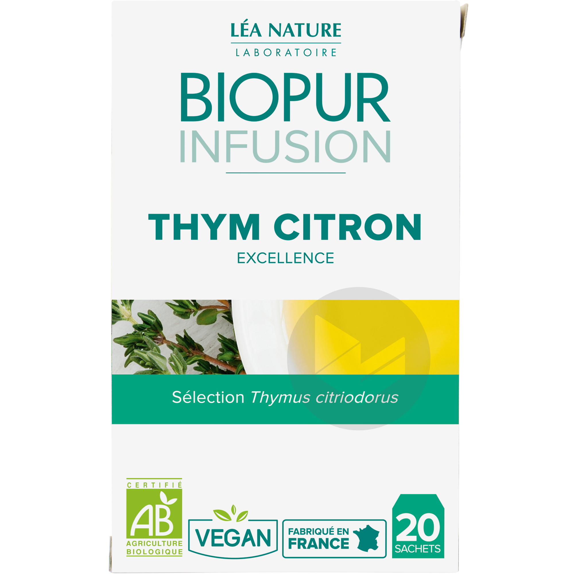 Infusion Thym citron