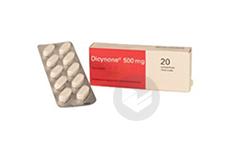 500 Mg Comprime Plaquette De 20