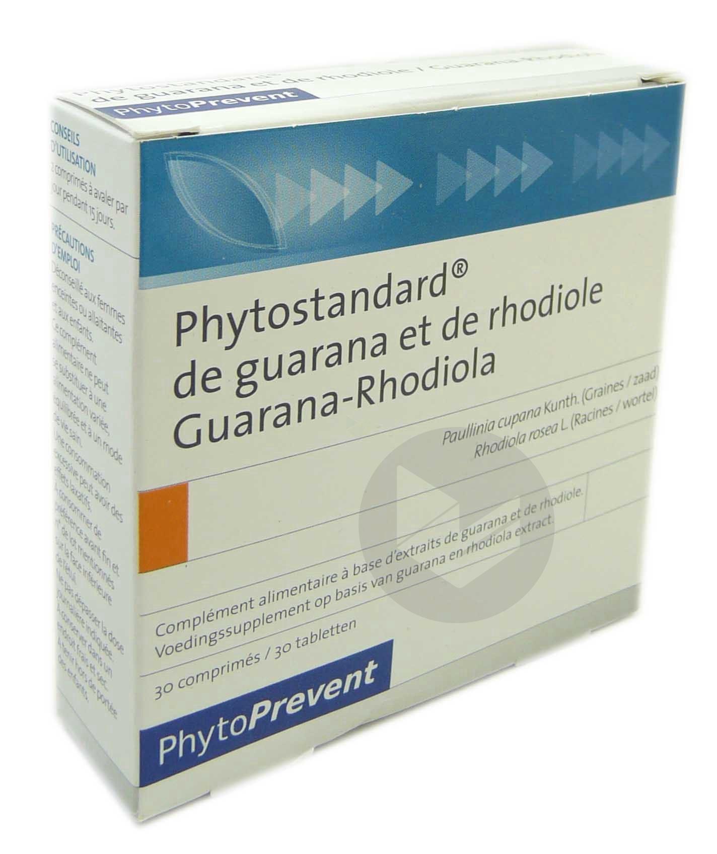 Phytostandard Guarana Rhodiole Cpr B 30