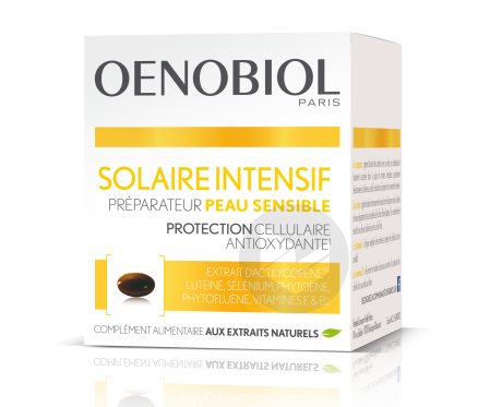 Solaire Intensif Preparateur Peau Sensible 3 X 30 Capsules