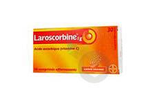 LAROSCORBINE 1 g Comprimé effervescent (2 tubes de 15)