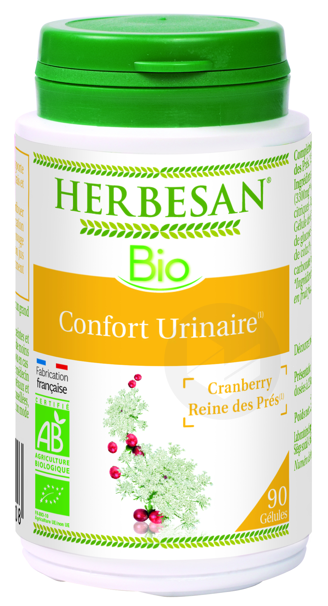 Cranberry Reine Des Pres Bio 90 Gelules