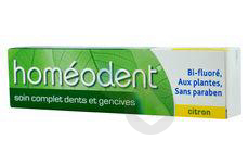 Homeodent Soin Complet Pate Dentifrice Dents Et Gencives Citron T 75 Ml