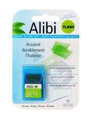 ALIBI Feuille orodispersible halitose B/20
