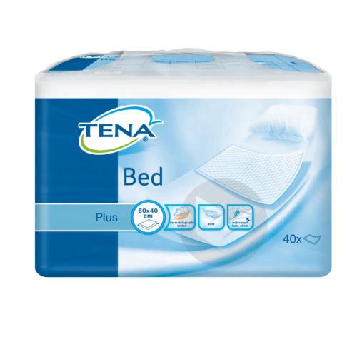 TENA BED PLUS Alèze intraversable usage unique 40x60cm Sac/40