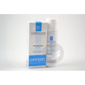 HYDREANE RICHE Cr hydratante peau sèche à très sèche T/40ml+Eau thermale 50ml