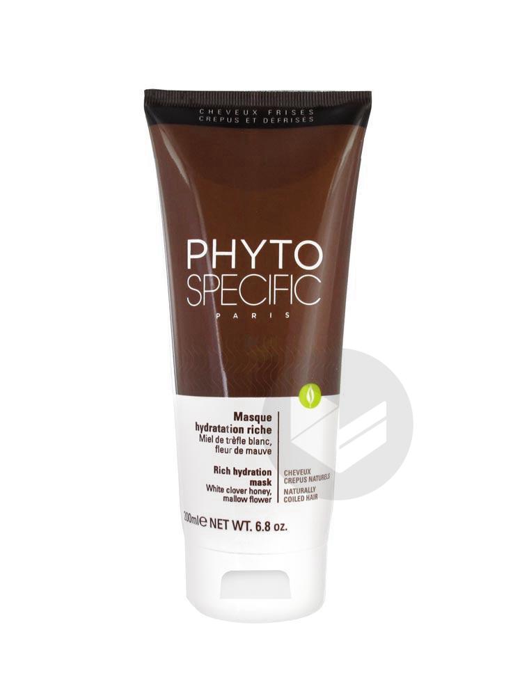 PHYTOSPECIFIC Masque hydratation riche T/200ml